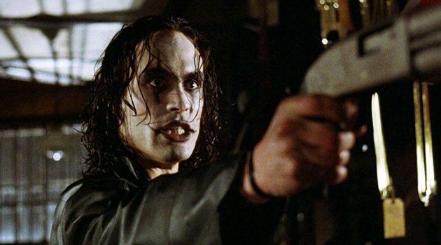 'El cuervo' (1994), distribuida en su día en España por Lauren Film.