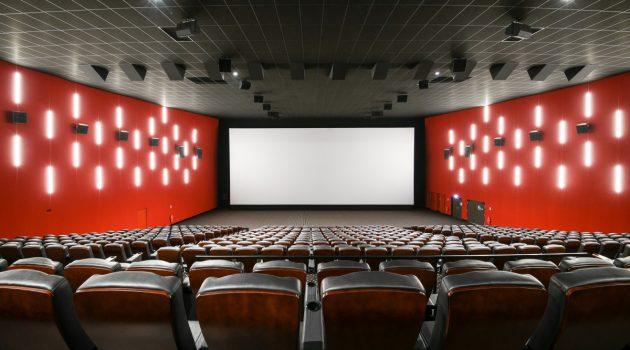 Sala en los cines Megarama de Montigny-lès-Cormeilles (Francia).