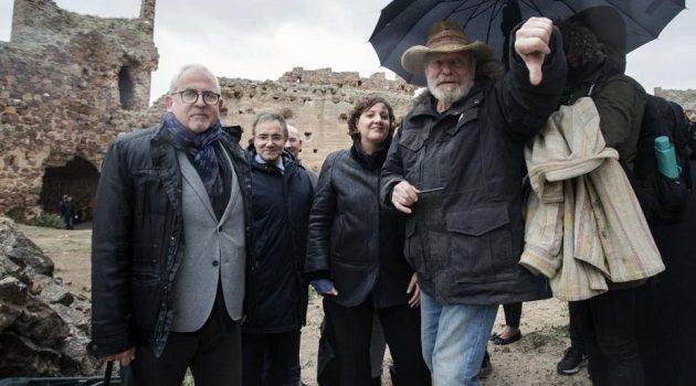Si hay una obra vinculada a Castilla-La Mancha, esa es 'El Quijote'. Terry Gilliam grabó en la región su particular visión del personaje, con la colaboración de la Film Commission (Foto: Gobierno de Castilla-La Mancha).