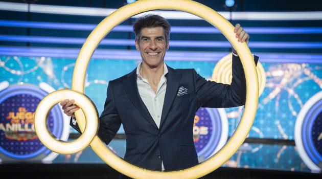 Jorge Fernández es el presentador de 'El juego de los anillos'