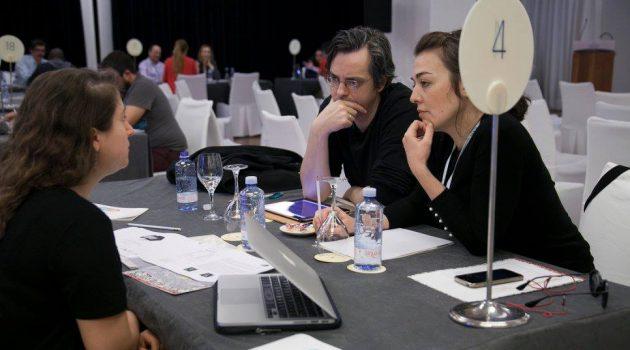Reuniones durante el CIIF Market 2018.