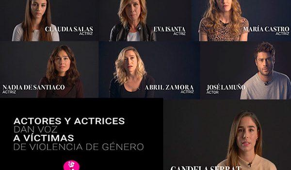 La campaña de COSMO contra la violencia de género que reúne a grandes personalidades del cine y la televisión
