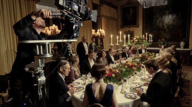 La Sony VENICE durante un momento del rodaje de 'Downton Abbey'
