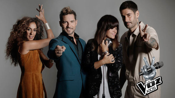 Antena 3 y Boomerang TV graban ya la nueva edición de 'La Voz Kids'