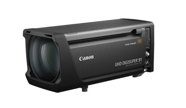 Canon lanza sus dos primeros objetivos zoom para cámaras broadcast 8K