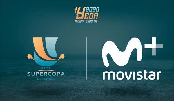 El nuevo formato de la Supercopa de España se verá en Movistar+