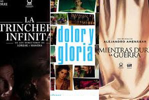 'La trinchera infinita',  'Dolor y gloria' y 'Mientras dure la guerra', también favoritas para los Platino
