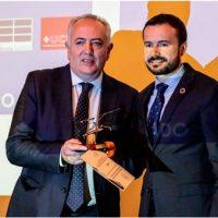 "Aotec, premio a la ""Entidad pro Teleco"""