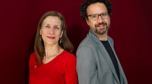 Mariette Rissenbeek (directora ejecutiva) y Carlo Chatrian (director artístico). Foto de Alexander Janetzko.