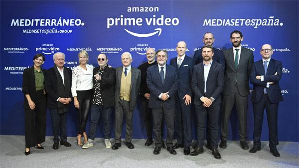 Amazon Prime Video, primera ventana para varias producciones de Mediaset