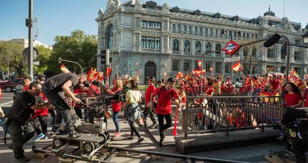 Leve aumento en la inversión de producciones audiovisuales extranjeras en España