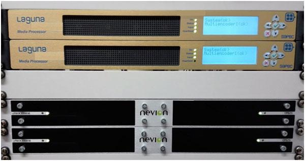 RTVE utiliza los equipos de codificación Laguna de Sapec en sus cabeceras satelitales