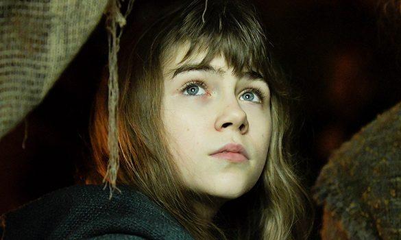 La niña Haizea Carneras interpreta al personaje protagonista (Foto: Nico de Assas)