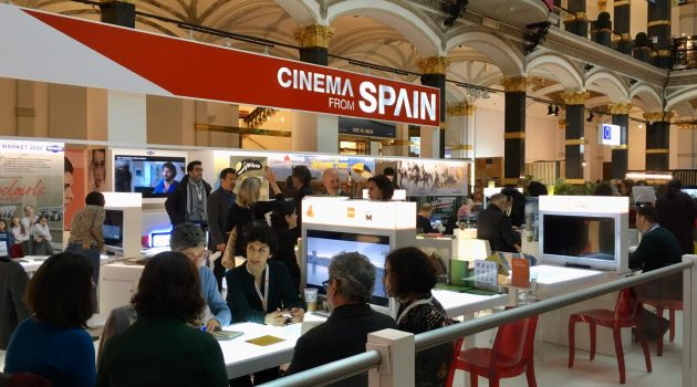 Pabellón Cinema from Spain en el European Film Market de Berlinale 2020.