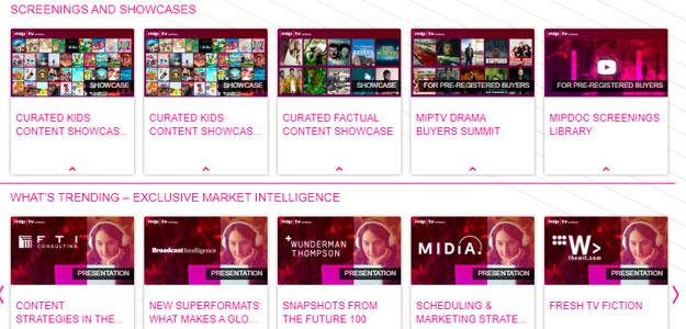 MIPTV Online+ continúa abierto hasta el próximo viernes día 10