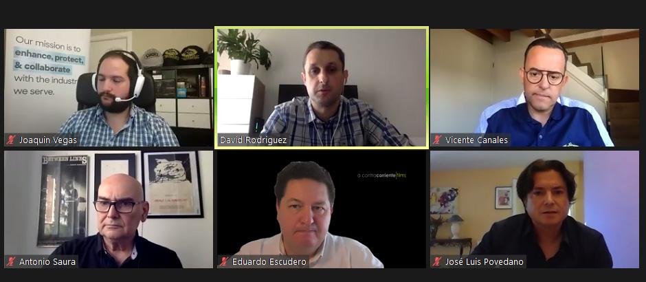 Encuentro Comscore con distribuidores y agencias de ventas internacionales