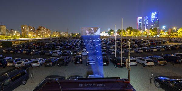 Autocine Madrid RACE. Vuelve el cine a la gran pantalla tras el COVID-19