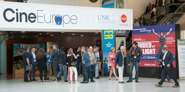 Imagen de la convención CineEurope en Barcelona en 2019
