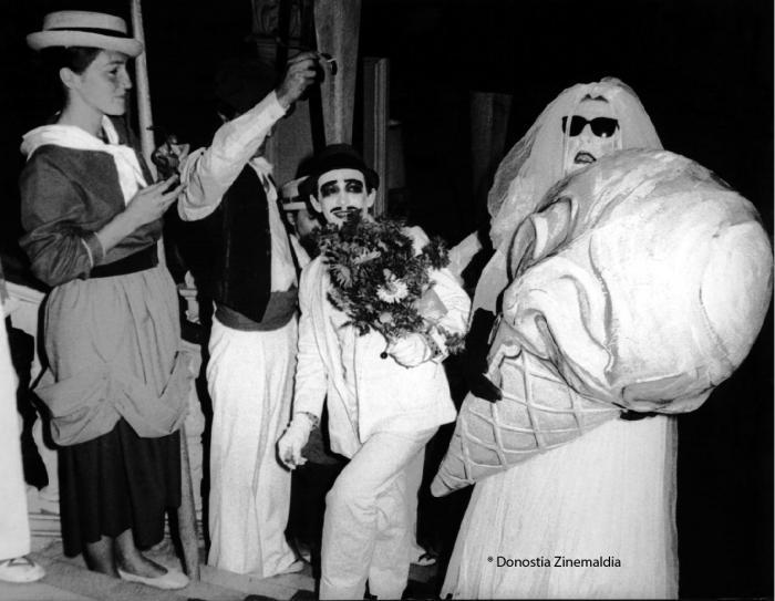 Foto antigua del Festival de San Sebastián