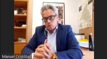 Manuel Cristóbal de la Asesoría Audiovisual de la Comunidad de Madrid