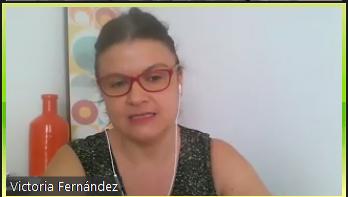Victoria Fernández de la Agencia Andaluza de Industrias Culturales