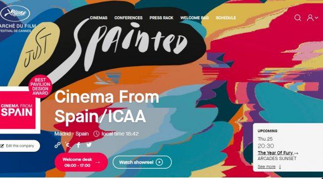 El pabellón virtual de Cinema From Spain gana el premio al mejor diseño en el Marché du Film