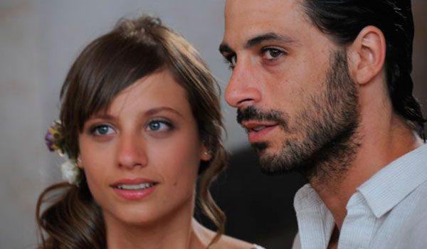 Michelle Jenner y Hugo Silva en la primera etapa de 'Los hombres de Paco'