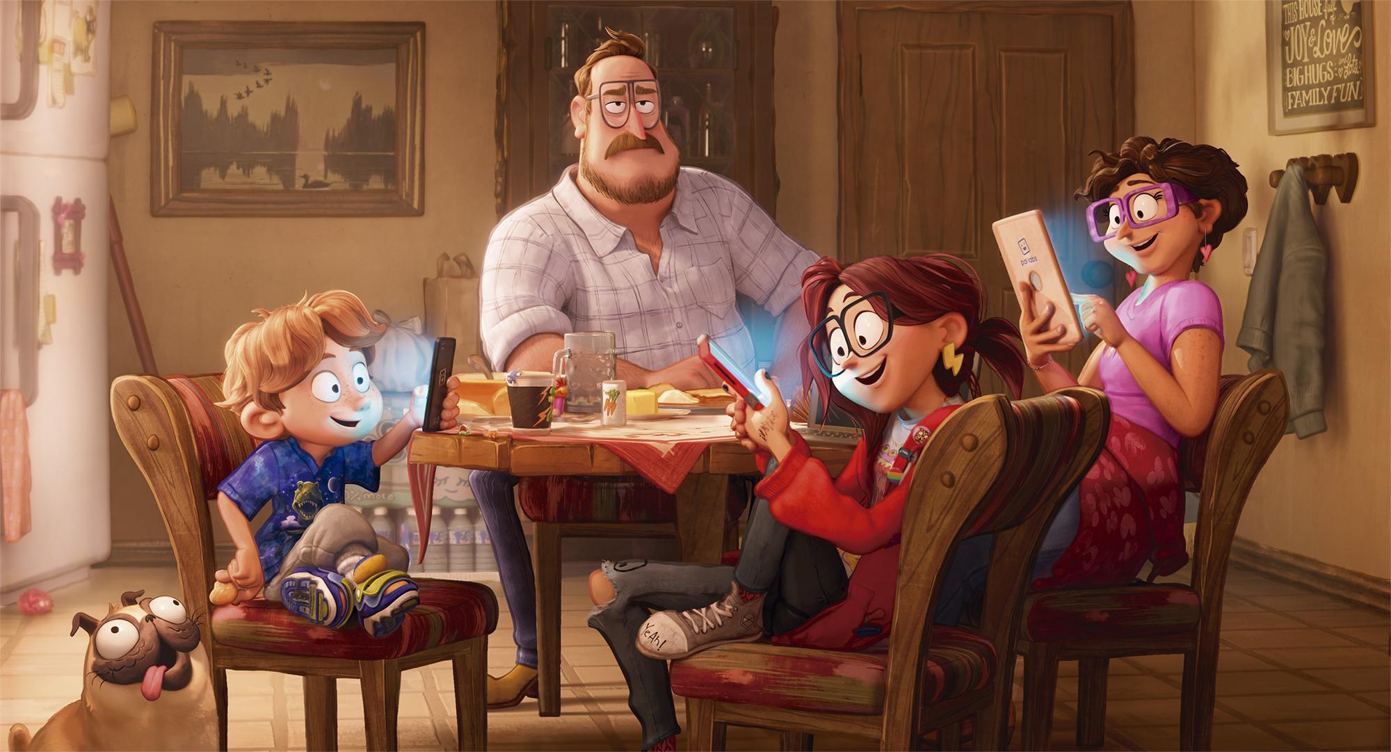 'Conectados - Modo Familia' (Sony). Estreno previsto el 16 de octubre.