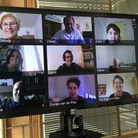 Reunión online de la Junta Directiva de Eurimages