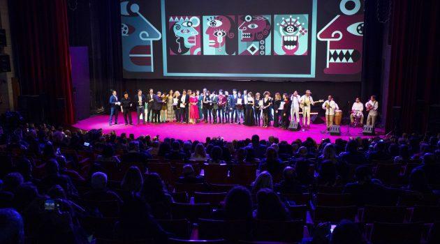 Gala de clausura del Festival de Huelva en 2019