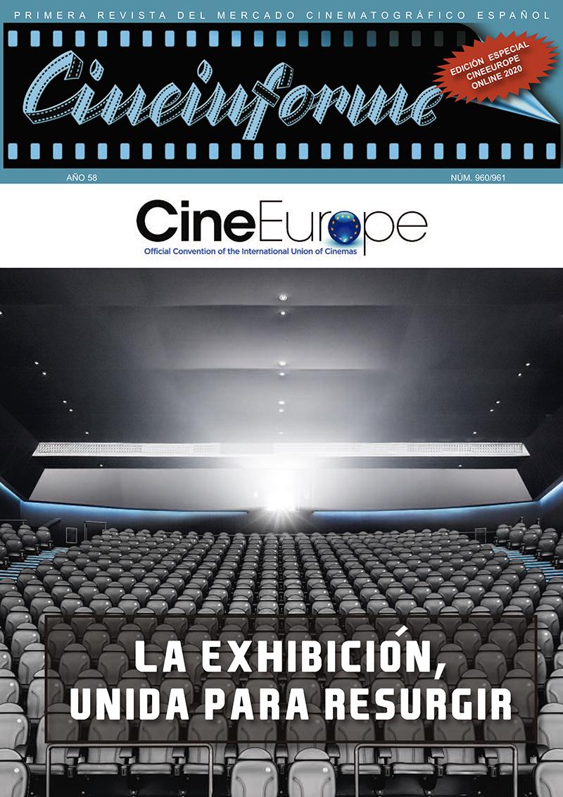 Portada de Revista CineEurope 2020 de Cineinforme
