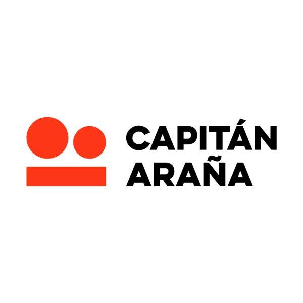 Logo de la productora Capitán Araña