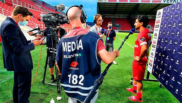 Mediapro comienza a operar el nuevo canal de fútbol belga