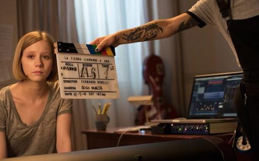 Rodaje del corto 'La Tierra llamando a Ana'