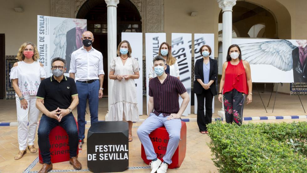 Presentación del cartel y de los primeros contenidos en Sevilla 2020 (Foto: Lolo Vasco)