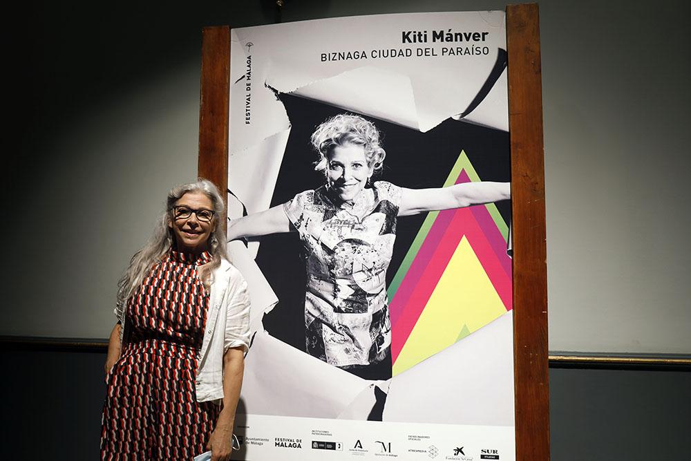 Kiti Mánver recibió el Premio Ciudad del Paraíso (Foto: Álex Zea)