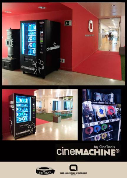 Cinemachine de Cinetools en el Parc Audiovisual de Catalunya