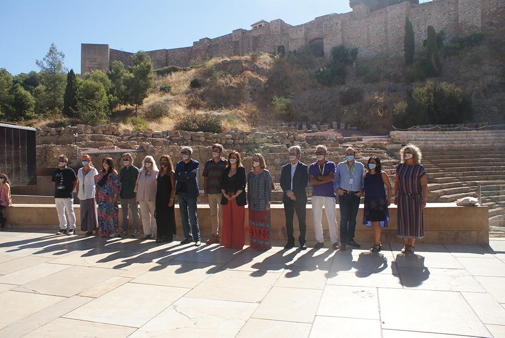 Representantes de la nueva Academia del Cine Andaluz
