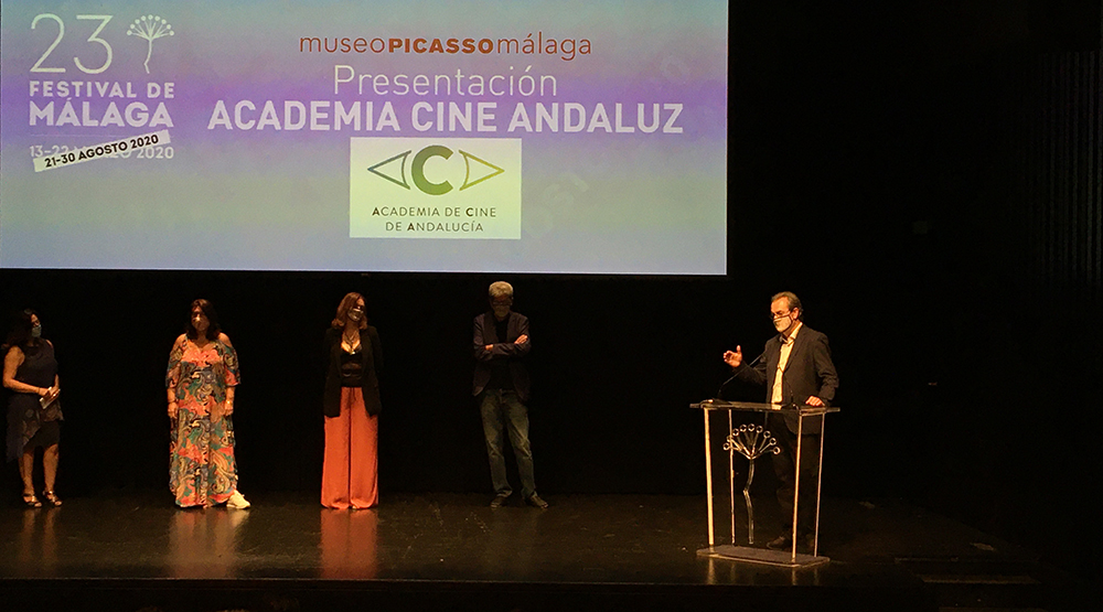 Presentación de la Academia del Cine Andaluz