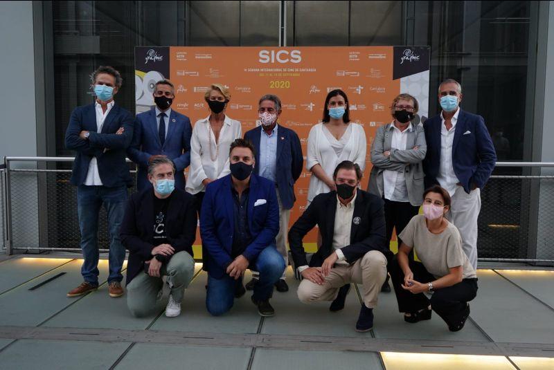 Photocall en la gala de clausura de la SICS 2020.
