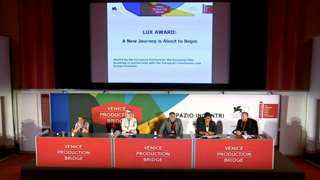 Presentación en Venecia del nuevo Premio LUX.