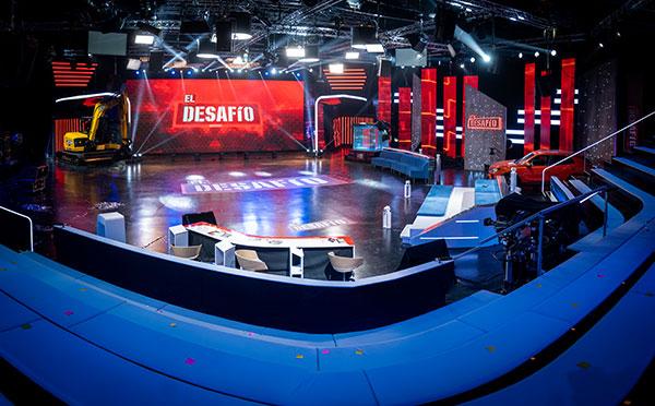 Antena 3 graba El desafío