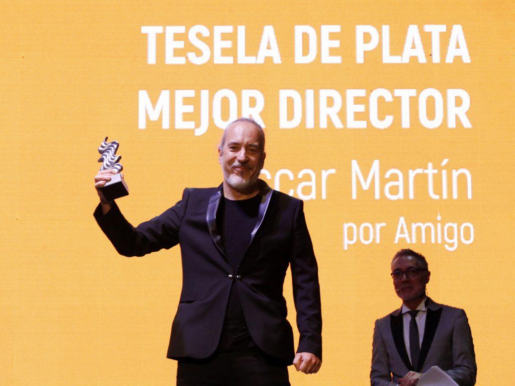 Óscar Martín se hizo con la Mejor Dirección por 'Amigo'