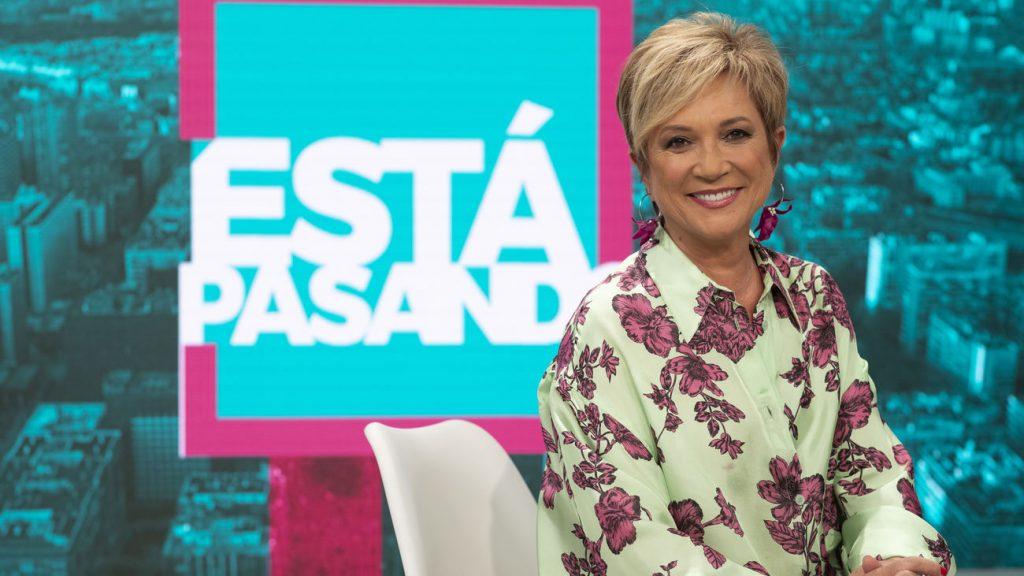 Inés Ballester presenta Está Pasando en TeleMadrid