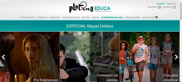 Platino Educa lanza un encuentro virtual sobre Delibes y el Cine
