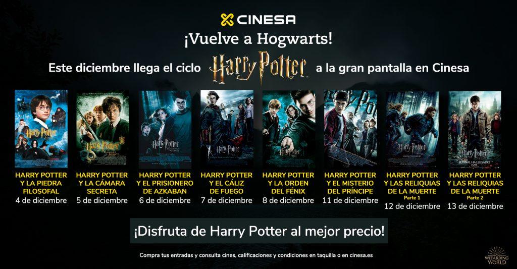Ciclo Harry Potter en Cinesa