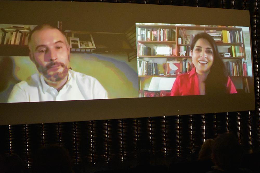 James Lattimer y Cecilia Barrionuevo
