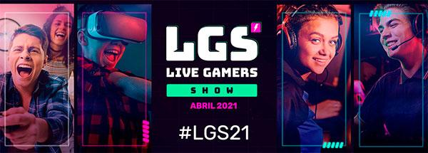 Live Gamers Show, evento online del videojuego en habla hispana, se celebrará en abril