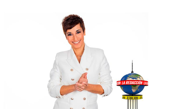 Telemadrid lanza 'La Redacción' con Adela González Acuña al frente