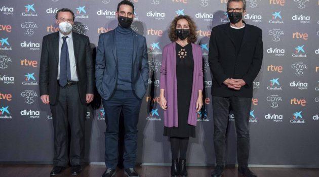 Photocall en el anuncio de las nominaciones de los Goya 2021 (Foto: Academia de Cine)